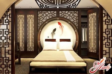 правильное расположение спальни по фен шуй