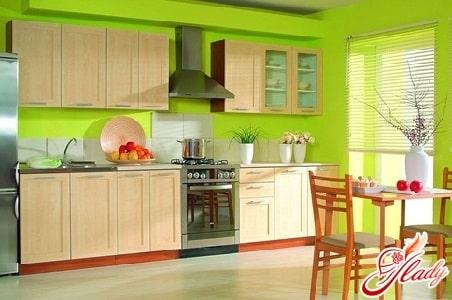 правильное расположение мебели на кухне по фен шуй