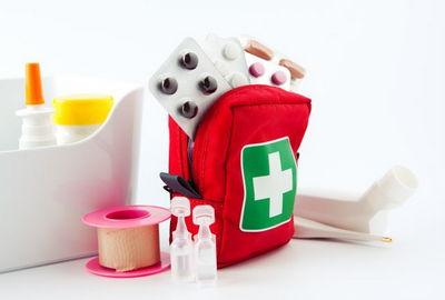 Домашняя аптечка первой помощи