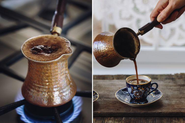 Как варить кофе дома