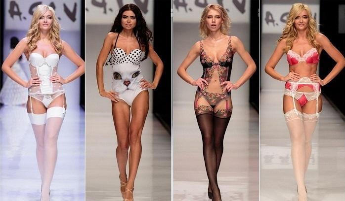 Модное нижнее женское белье
