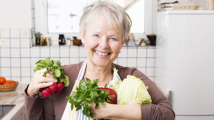 Примерная диета для тех кому за 60