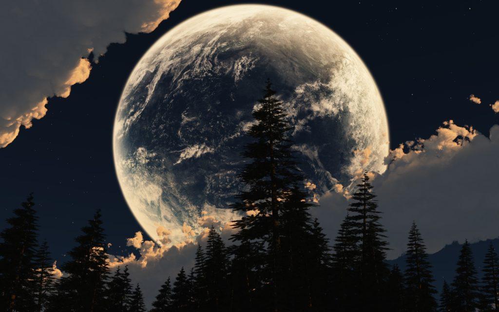 Почему не стоит смотреть на луну
