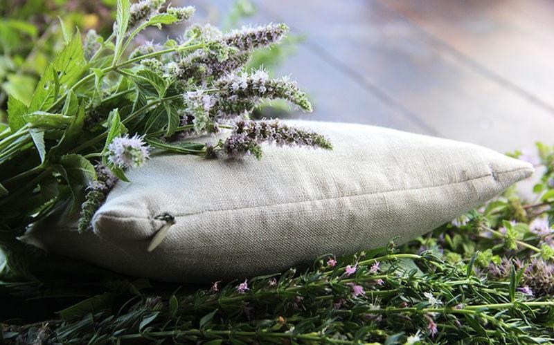 подушка для сна с травами