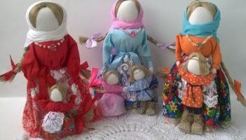 Кукла Ведучка — сильный оберег для крепкой и счастливой семьи