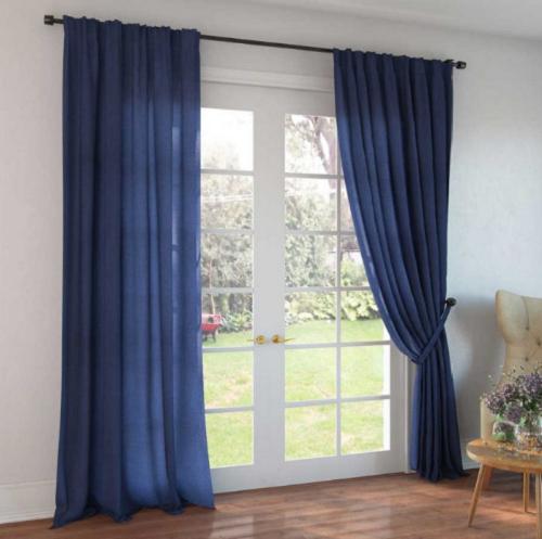 Как гладить льняные шторы