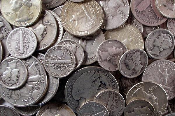 Продать серебряные монеты