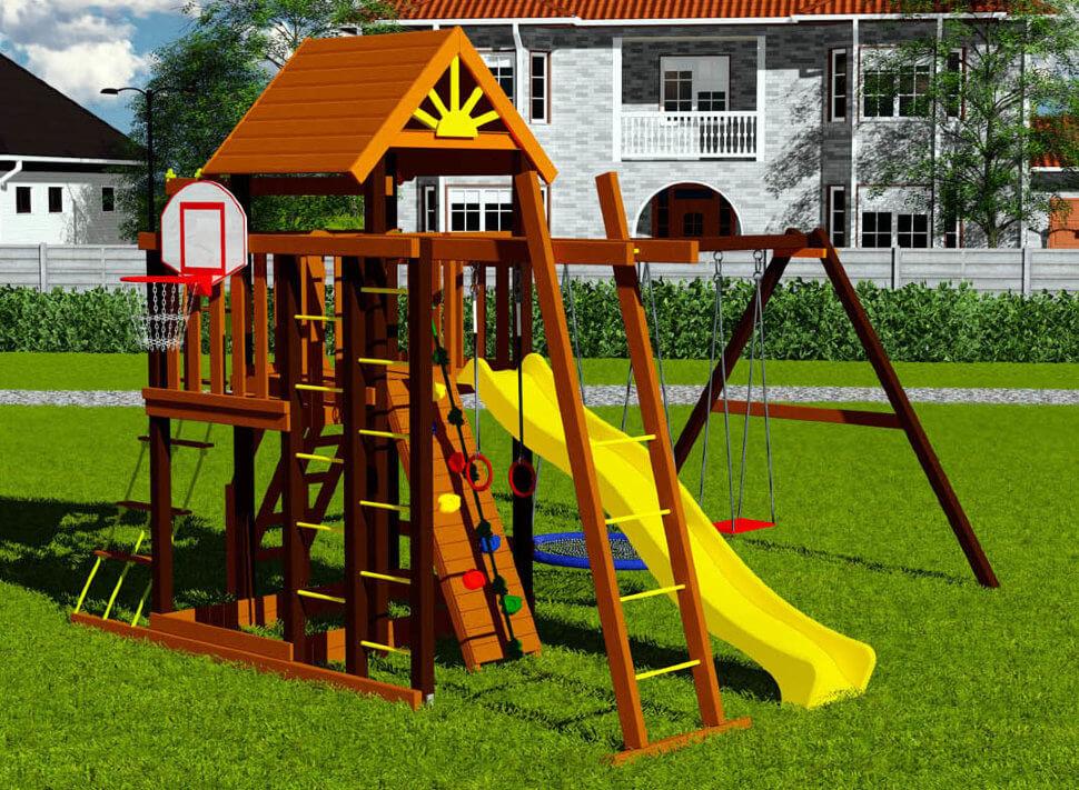 Как подобрать игровой уличный комплекс для ребенка?