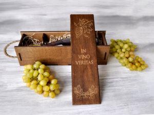В чем ценность деревянной упаковки для вина?