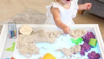 Какие бывают столы-песочницы для детей?