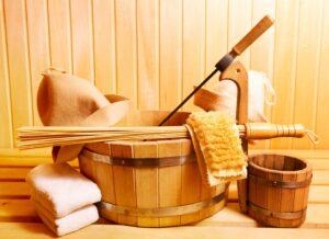 Аксессуары для банной процедуры